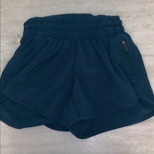Dark Blue Lulu lemon shorts